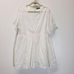Shein V Neck Cotton Spandex Dress Size 1XL